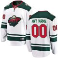 Minnesota Wild Custom Letter and Number Kits for White Jersey