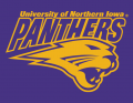Northern Iowa Panthers 2002-2014 Secondary Logo 02 decal sticker