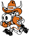 Texas Longhorns 1981-2002 Mascot Logo decal sticker
