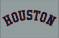 Houston Astros 2013-Pres Jersey Logo 01 decal sticker