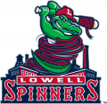 Lowell Spinners 2017-Pres Primary Logo decal sticker