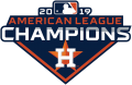 Houston Astros 2019 Champion Logo decal sticker