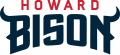 Howard Bison 2015-Pres Wordmark Logo decal sticker