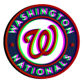 Phantom Washington Nationals logo decal sticker