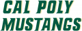 Cal Poly Mustangs 1999-Pres Wordmark Logo 03 decal sticker