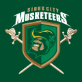 Sioux City Musketeers 2010 11-Pres Alternate Logo decal sticker