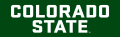 Colorado State Rams 2015-Pres Wordmark Logo 08 iron on sticker