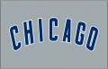 Chicago Cubs 1997-Pres Jersey Logo iron on sticker