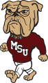 Mississippi State Bulldogs 1986-2008 Mascot Logo 01 decal sticker