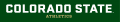 Colorado State Rams 2015-Pres Wordmark Logo 06 iron on sticker
