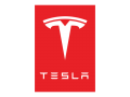 Tesla Logo 02 decal sticker