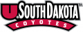 South Dakota Coyotes 2004-2011 Wordmark Logo iron on sticker