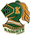 London Knights 2008 09-2011 12 Primary Logo iron on sticker