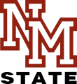 New Mexico State Aggies 1986-2005 Alternate Logo 03 iron on sticker