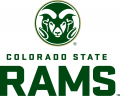 Colorado State Rams 2015-Pres Secondary Logo iron on sticker