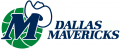 Dallas Mavericks 1993 94-2000 01 Primary Logo iron on sticker