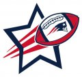 New England Patriots Football Goal Star logo iron on sticker