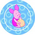 Disney Piglet Logo 16 decal sticker