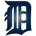 Detroit Tigers Plastic Effect Logo iron on sticker