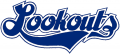 Chattanooga Lookouts 1985-1986 Primary Logo iron on sticker